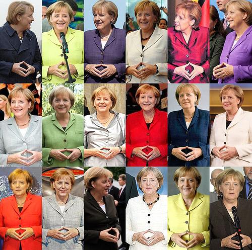 Merkel raute der macht